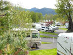 View larger image of RVs and trailers at campgrounds at BRIDGE RV PARK  CAMPGROUND image #2