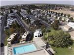 View larger image of Aerial view over campground at A COUNTRY RV PARK image #1
