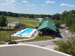 View larger image of Amazing aerial view over resort at YOGI BEAR JELLYSTONE CAMP RESORTS image #11