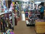 View larger image of Interior view of the store at CROSS CREEK CAMPING RESORT image #7