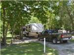 View larger image of Trailer camping at MILLERS CAMPING RESORT image #3