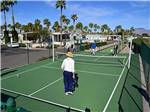 View larger image of Tennis court at RINCON COUNTRY EAST RV RESORT image #6