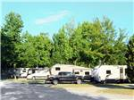 View larger image of Trailers and RVs camping at LAKE PINES RV PARK  CAMPGROUND image #2
