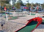 View larger image of Miniature golf course at ORANGE CITY RV RESORT image #6