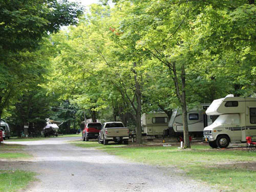 SPRUCE ROW CAMPGROUND & RV PARK at ITHACA, NY