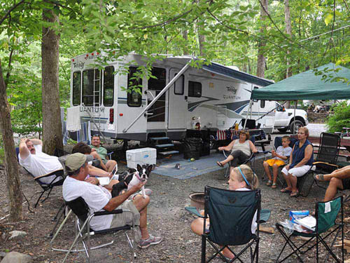 MOUNTAIN VISTA CAMPGROUND at STROUDSBURG, PA