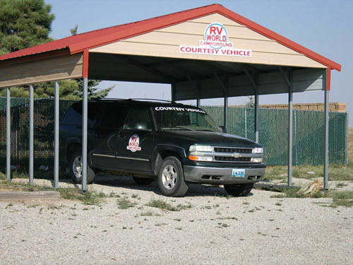 RED DESERT ROSE RV PARK (FORMERLY RV WORLD CAMPGROUND) at RAWLINS, WY