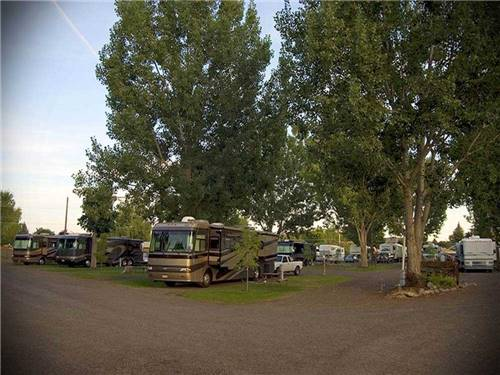 MT VIEW RV at BAKER CITY, OR