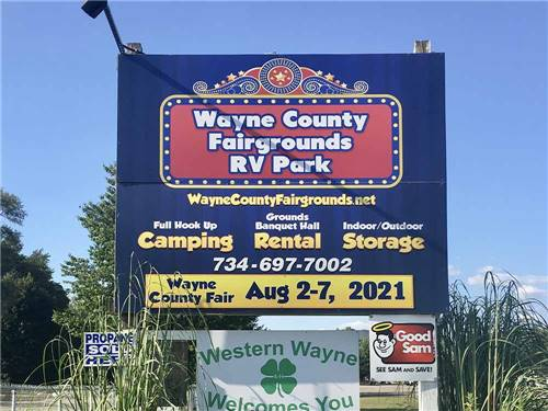 WAYNE COUNTY RV PARKS & FAIRGROUNDS at BELLEVILLE, MI