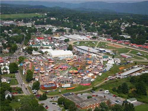 STATE FAIR OF WEST VIRGINIA CAMPGROUND at LEWISBURG, WV