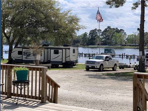 TAW CAW CAMPGROUND & MARINA at SUMMERTON, SC