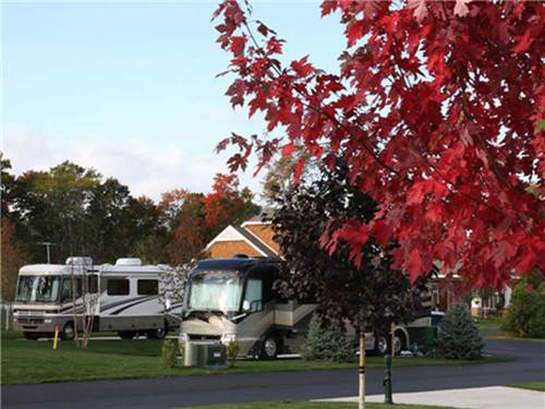 PETOSKEY MOTORCOACH RESORT at PETOSKEY, MI