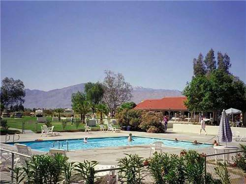 INDIAN WATERS RV RESORT & COTTAGES at INDIO, CA