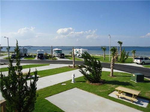 PENSACOLA BEACH RV RESORT at PENSACOLA, FL
