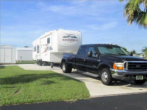 RAINBOW RV RESORT at FROSTPROOF, FL