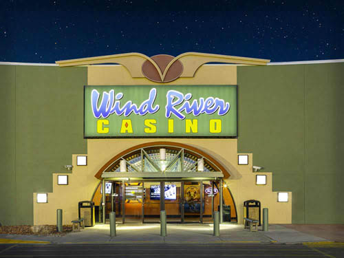 WIND RIVER CASINO at RIVERTON, WY