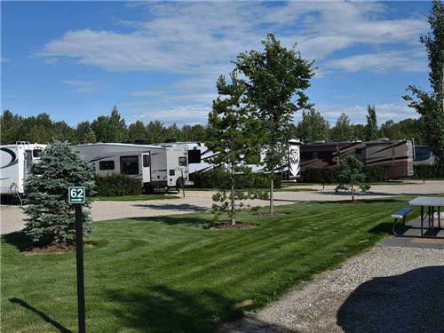 CAMP 'N CLASS RV PARK at STONY PLAIN, AB