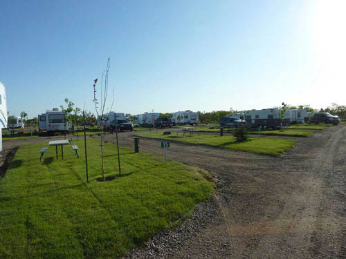 CAMPLAND RV RESORT at SASKATOON, SK