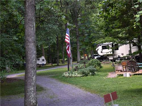 WHISPERING PINES CAMPING ESTATES at BENTON, PA