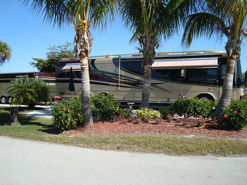 GULF WATERS RV RESORT at FORT MYERS BEACH, FL