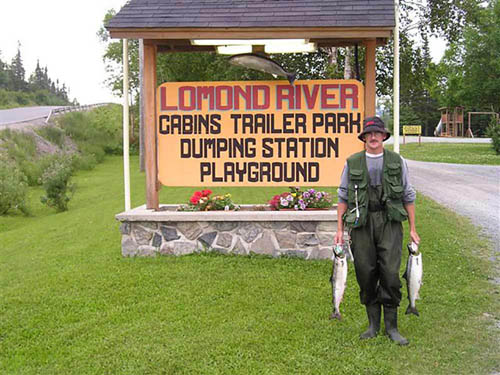 LOMOND RIVER LODGE AND RV PARK at LOMOND RIVER, NL
