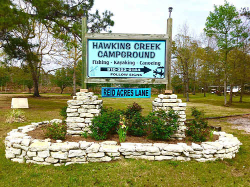 Hawkins Creek Campground