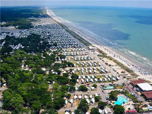 MYRTLE BEACH CAMPGROUNDS at MYRTLE BEACH, SC