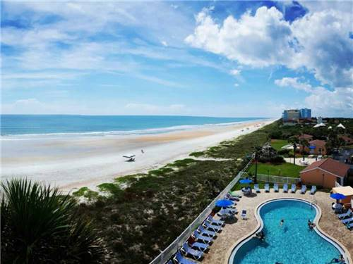 CORAL SANDS OCEANFRONT RV RESORT at ORMOND BEACH, FL