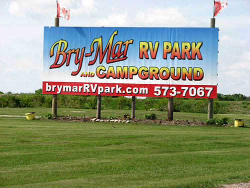 BRY-MAR RV PARK AND CAMPGROUND at BRANDON, MB