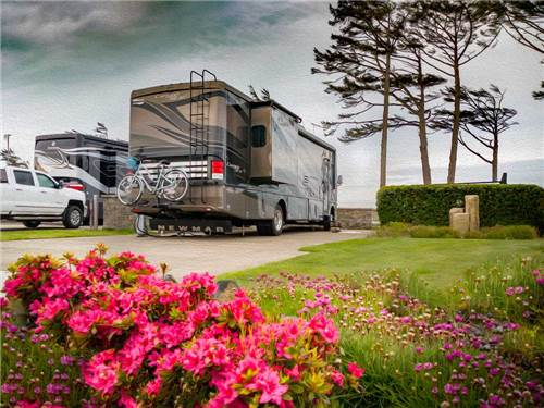 PACIFIC SHORES MOTORCOACH RESORT at NEWPORT, OR
