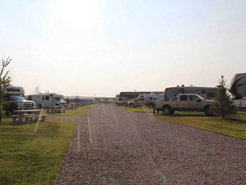 TRAILS WEST RV PARK at SHEBLY, MT