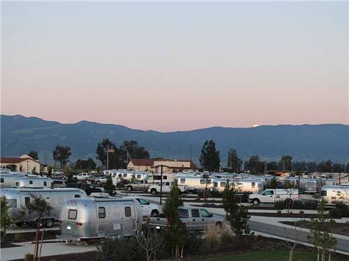 YANKS RV RESORT at GREENFIELD, CA