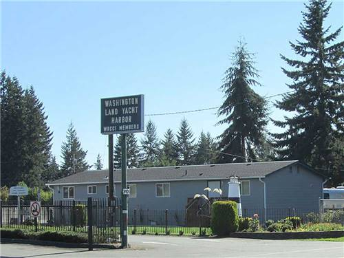 WASHINGTON LAND YACHT HARBOR RV PARK & EVENT CENTER at OLYMPIA, WA