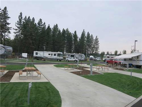 NORTH SPOKANE RV CAMPGROUND at SPOKANE, WA