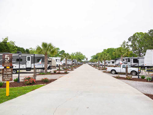 ALL ABOUT RELAXING RV PARK at MOBILE, AL