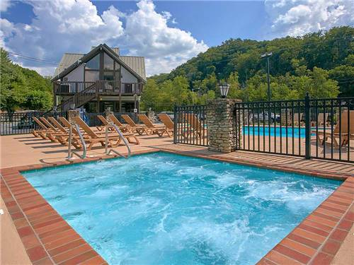 RIVEREDGE RV PARK & LOG CABIN RENTALS at PIGEON FORGE, TN