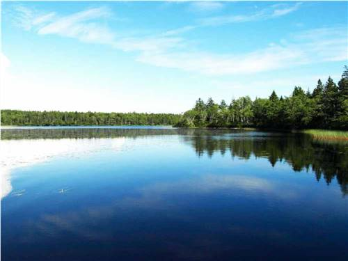 CASTLE LAKE CAMPGROUND & COTTAGES at ARCADIA, NS