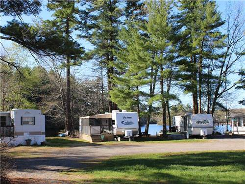 TUXBURY POND RV RESORT at SOUTH HAMPTON, NH