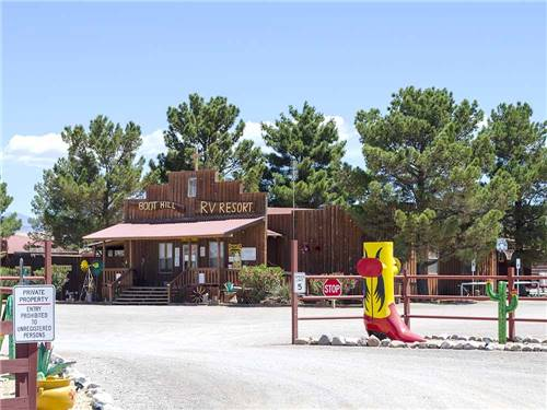 BOOT HILL RV RESORT, LLC at ALAMOGORDO, NM