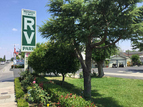 Blackstone North RV Park Fresno CA