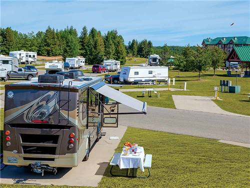 LITTLE RIVER CASINO RV PARK at MANISTEE, MI