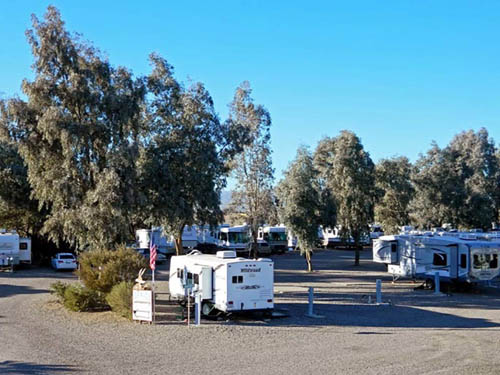 MOON RIVER RV RESORT at BULLHEAD CITY, AZ