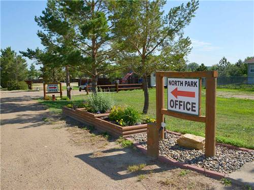 NORTH PARK RV CAMPGROUND at DICKINSON, ND