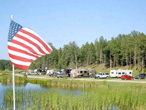CUSTERS GULCH RV PARK & CAMPGROUND at CUSTER, SD