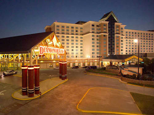 DIAMONDJACKS CASINO RESORT RV PARK at BOSSIER CITY, LA