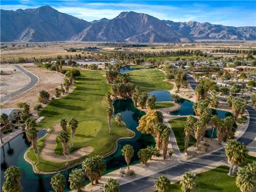 THE SPRINGS AT BORREGO RV RESORT & GOLF COURSE at BORREGO SPRINGS, CA