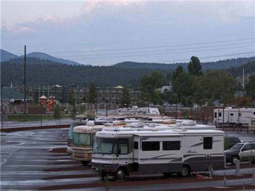 GRAND CANYON RAILWAY RV PARK at WILLIAMS, AZ