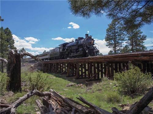 Grand Canyon Railway Rv Park Williams Az Rv Parks And