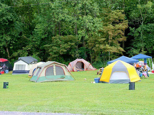 PARADISE STREAM FAMILY CAMPGROUND at LOYSVILLE, PA