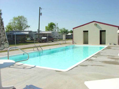 Poches RV Park and Fish-N-Camp in Breaux Bridge LA